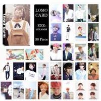 Youpop KPOP BTS Bangtan Boys Summer Package Photo V Album LOMO Cards Self Made Paper Card HD Photocard LK403 - intl