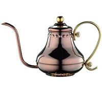 【晨光】Tiamo 極細口徑7mm 新不鏽鋼細口壺420ml 玫瑰金(185627)