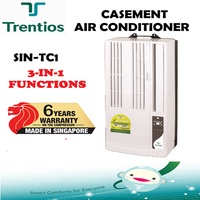 Trentios SIN-TC1 Hoseless Casement Aircon (3 in 1: Cooling / Fan / Dehumidifying) Free Delivery Only