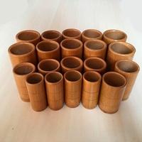 竹罐竹火罐碳化竹子竹炭罐竹筒火罐竹制拔罐器30罐家用一套裝  遇見生活