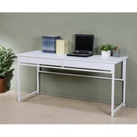160X60公分雙抽屜加長實用電腦桌/工作桌/書桌//辦公桌/會議桌/洽談桌(三色可選)