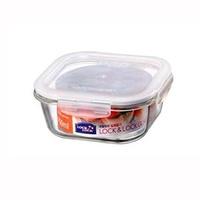 LOCK&LOCK 樂扣 LLG224 方形玻璃保鮮盒 750ML 耐熱玻璃保鮮盒 方型保鮮盒 玻璃盒 微波便當盒