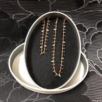 K金項鍊 三色琉璃珠 短項鍊 手鍊 整組有優惠