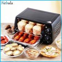Home Mini Electric Oven Multifunctional Double Layer Electric Oven Style:Keshun 9 liters