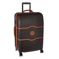 """Delsey Luggage Suitcase Chatelet Hard+ 24 24"""" inch 4 Wheel Wheeled Spinner Business Travel Bag"""