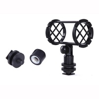POPO BOYA BY-C04 Camera Shoe Microphone Shockmount Microphones Stand