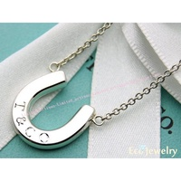 【Tiffany&Co】經典款 馬蹄項鍊 純銀925項鍊~專櫃真品已送洗