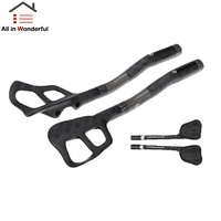 1 Pair Bicycle Full Carbon Fiber Aero Bar Arm Rest Handlebar Bicycle Accessories for TT Bikes