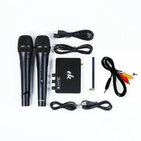 EK1-K2 Karaoke Wireless Microphone Mixer Echo Machines System