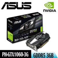 【ASUS華碩】ASUS PH-GTX1060-3G 鳳凰版 顯示卡