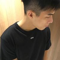 美國百分百【全新真品】Off-white 短袖 T-shirt 短T 潮T 休閒 上衣 黑色 XS號 J586
