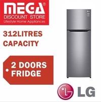 LG GT-B3127PZ 2 DOORS REFRIGERATOR / FRIDGE / LOCAL WARRANTY