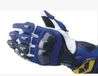 RS-TAICHI RST047 Racing Gloves Motorcycle Gloves Motorcycle Gloves Long Drop(Color:Blue)(Size:L) - intl