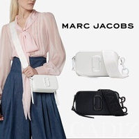美國正品 Marc jacobs Snapshot DTM Small Camera Bag 黑白簡約相機小方包