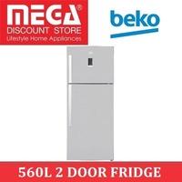 BEKO DN156220JX 560L 2 DOOR FRIDGE / LOCAL WARRANTY