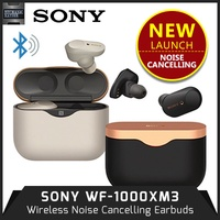 READY STOCK SONY WF-1000XM3 Wireless Noise Cancelling Earbuds / Earphones. WF1000XM3
