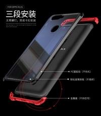 Oppo R11S/R11S Plus Metal Frame Bumper Case + Plastic