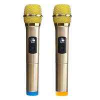 UHF Wireless 762.85-768.85MHz Microphone System for Stage KTV
