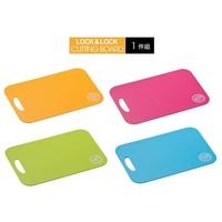 韓國LOCK LOCK樂扣樂扣雙面粉彩砧板【小】尺規刻度切菜板 分類砧板