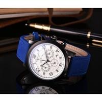 【有間小鋪】Montblanc萬寶龍男士手錶 真三眼 日曆男款手錶 商務石英腕錶 皮帶手錶