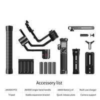 TOP FeiyuTech Ak4000 3-Axis Handheld Stabilizer Gimbal for NIKON SONY Camera