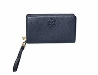 Tory Burch Bombe Smartphone Wristlet Women s Leather Wallet 50655