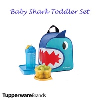 Tupperware Baby Shark Toddler Set (Lunch Box and Bottle set)