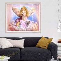 ㊕SG㊕Angel DIY 5D Diamond Embroidery Painting Cross Stitch Home Decor
