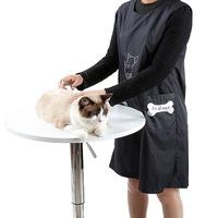 新品熱賣 🐕寵物美容師工作服美容圍裙🐶男女通用寵物防水美容袍🐩防粘毛防靜電狗狗剪毛美容服🐹
