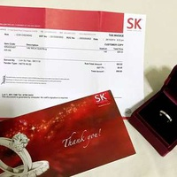 SK JEWELLERY 14K WG Gold Ring