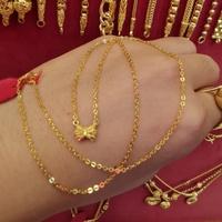 สร้อยคอทอง 96.5%  น้ำหนัก 1 สลึง ยาว  21cm ราคา 6,400บาท