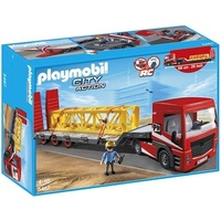 (卡司 正版現貨) Playmobil Special Plus 摩比人 PM05467 重型平板拖車 摩比積木 禮物