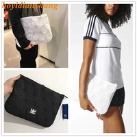 🔥In Stock🔥 Issey Miyake 3D Clutch/Sleeve Adidas Hand bag Men's and women's bag