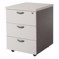 3-Equal Drawer Mobile Pedestal