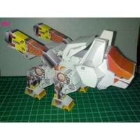 索斯機械獸ZOIDS-Chibi 紙模型