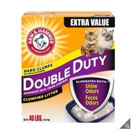ARM & HAMMER CAT LITTER 加強除臭貓砂 綠桶貓砂 鐵鎚牌貓砂 鐵鎚貓砂 凝結貓砂 好市多代購