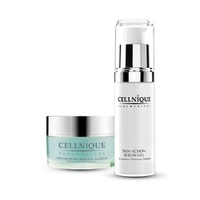 Cellnique No More BLACKHEAD Express Kit 30ml Skin action sebum gel And 20g Bio renewal  masque