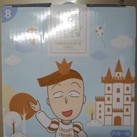 7-11櫻桃小丸子童話故事不鏽鋼便當盒提袋組