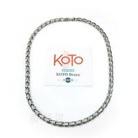 KOTO 純鈦鍺磁石健康項鍊 T-2179L (細版)  T-008L (寬版) )磁石能量項鍊 鍺鈦首飾 鍺鈦頸鍊 抗磨耐腐蝕 原廠製造 外銷品牌