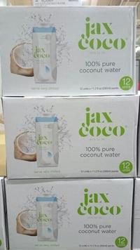 【衝評價】天天好市多代購 JAX COCO 100% 純椰子汁 椰子水 330毫升 X 12入/盒 COSTCO代買