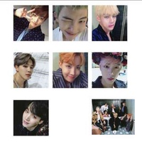 (PO) BTS WINGS PHOTOCARDS