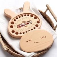 【初心質木】優質櫸木 可愛 小兔子 兒童 乳牙保存盒 寶寶 胎毛收藏盒(附贈 胎毛玻璃瓶 小鑷子 填充棉花)