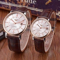 Longines automatic movement mechanical new couple watches.