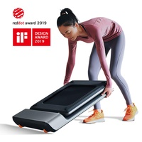 KINGSMITH WalkingPad P1 Smart Walk Folding Treadmill - Slim Foldable Exercise Fitness Equipment Under Desk Running Walking Pad Outdoor Indoor Gym