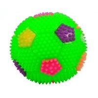 寵物發聲玩具 閃光叫叫球 寵物玩具 會發光又會發聲 乳膠耐咬 有彈力