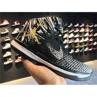 喬丹Air Jordan31代  AJ31 籃球鞋 男鞋針織系列 Air Jordan 31 黑人月