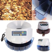 Beier Automatic Electronic Digital US Coin Sorter Change Counter Fast Sort