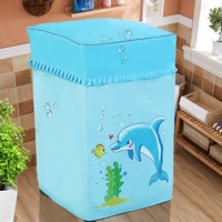 Oxford Cloth Waterproof Sun-resistant Washing Machine Cover Simple on the Open Fully Automatic Universal Haier Panasonic Midea Littleswan