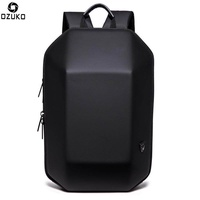OZUKO Laptop Backpack Men's Backpack Casual Fashion Anti-theft Notebook Backpack
