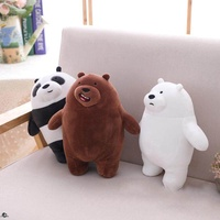 We Bare Bears Super Soft Stuffed Toys Panda Bear
